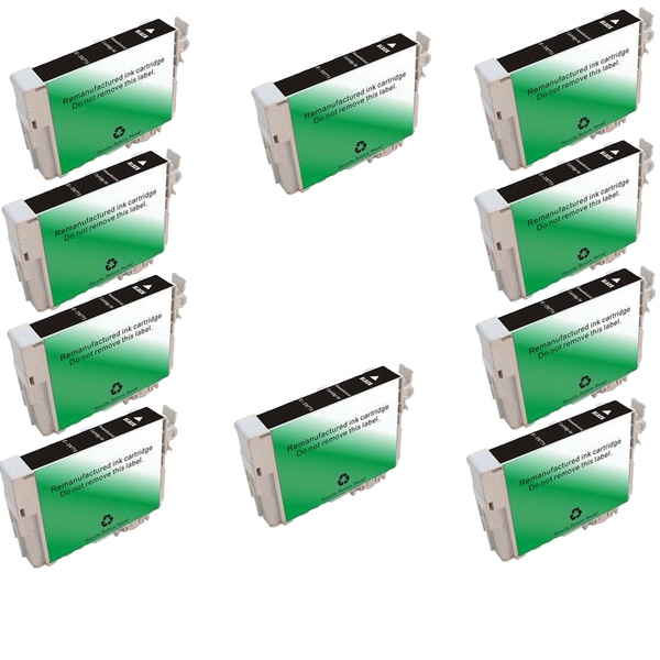10PK T0771 Black Compatible Inkjet Cartridge For Epson RX595 RX680 (Pack of 10)
