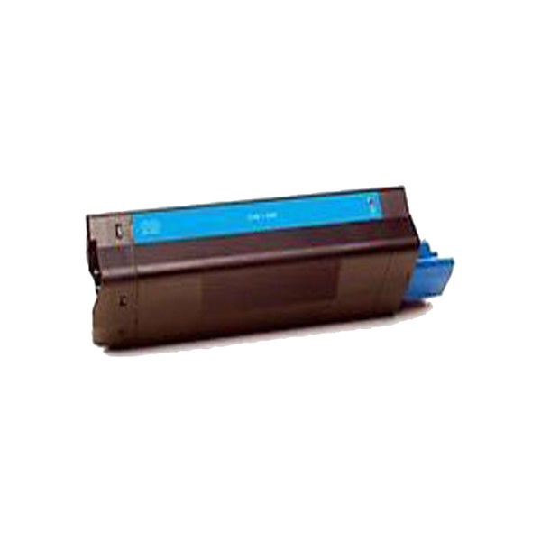 1PK Compatible 42487735 Cyan Toner Cartridge For OKI C8600 8800 (Pack of 1)