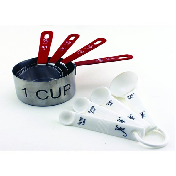 8-piece Measuring Cup and Spoon Set