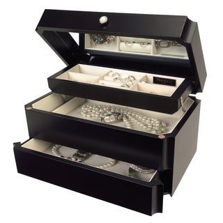 Mele & Co Jordan Java Wooden Jewelry Box
