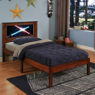 LightHeaded Beds Montgomery Espresso Twin Bed by Lifetime