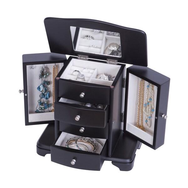 Tory Kennedy Java Wooden Jewelry Box