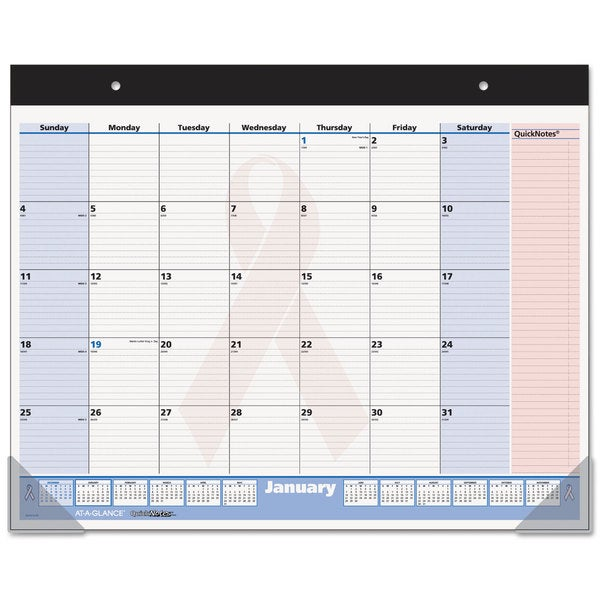 AT-A-GLANCE QuickNotes Special Edition 2016-2017 Desk Pad