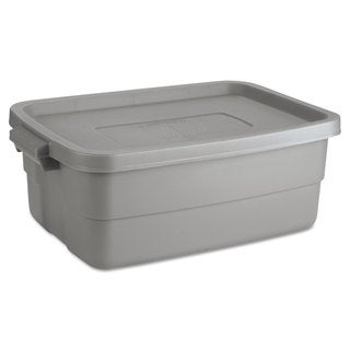 Rubbermaid Roughneck Steel Gray Storage Box