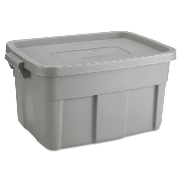 Rubbermaid Roughneck Steel Gray Storage Box