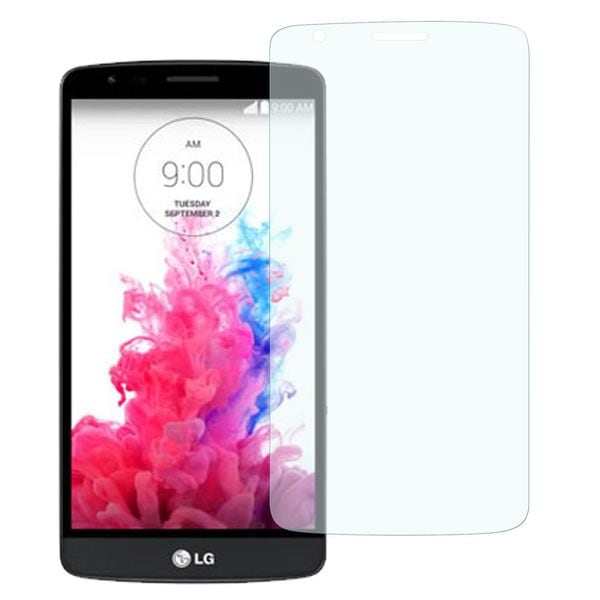 Insten Clear Tempered Glass Screen Protector for LG G3 Stylus Smartphone