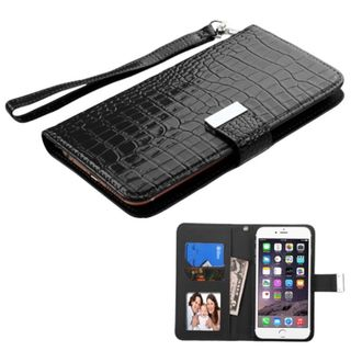 Insten Leather Phone Case Cover For Apple iPhone 6 Plus/ LG G Pro 2/ G Pro 2 Lite/ Samsung Galaxy Note/ 3/ 4/ Edge/ II