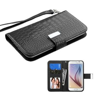 Insten Leather Phone Case Cover For Alcatel One Touch Fierce 2/ HTC One M8/ Samsung Galaxy S3/ S4/ S5/ S5 Sport/ S6/ Edge