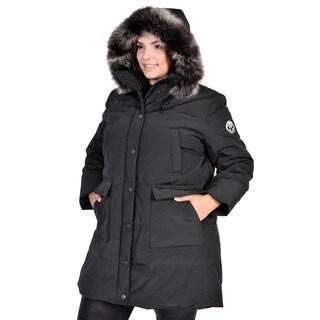 Nuage Women's Plus Size Arctic Expediton Down Coat