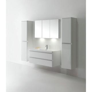 Eviva Glazzy 48-inch Vanity Wall Mount Single Sink