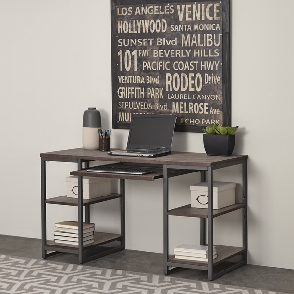 Home Styles Barnside Metro Pedestal Desk 17681389