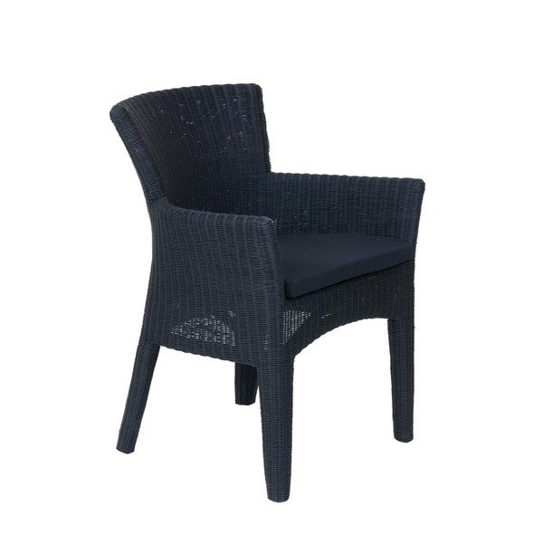 Athena Transitional Black Wooden Chair