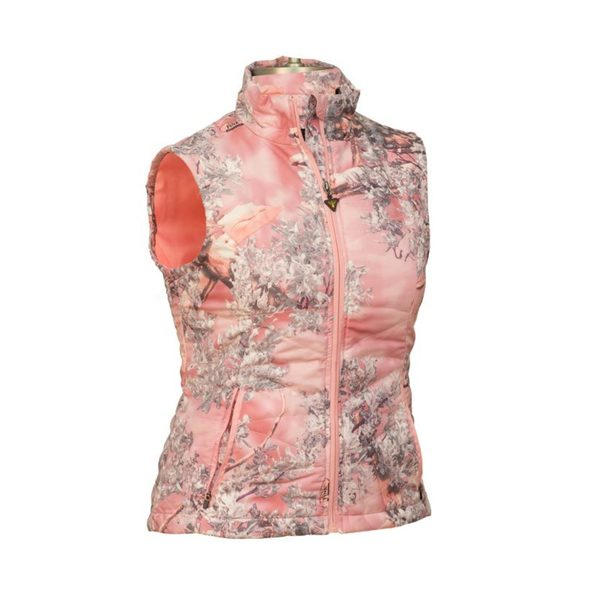 King's Camo Ladies Pink Camo Loft Vest