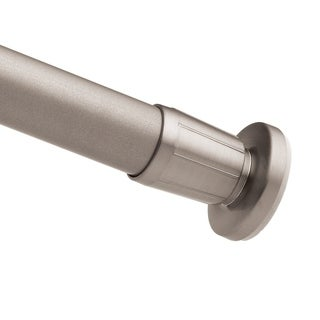Moen Donner Brushed Nickel Shower Rod