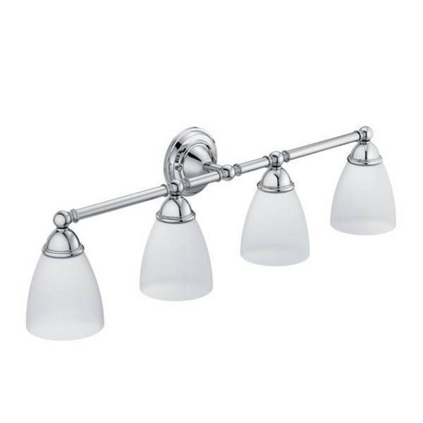 Moen Chrome Bathroom Vanity Lighting