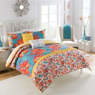 Vue Coachella 5-piece Floral Comforter Set