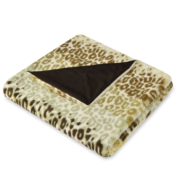 Savannah Cheetah Stripe Throw