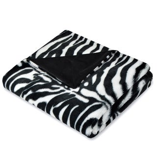 Safari Zebra Throw