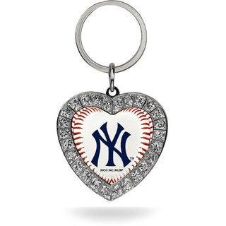 MLB New York Yankees Rhinestone Key Chain