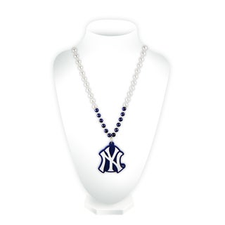 MLB New York Yankees Sports Beads with Medallion