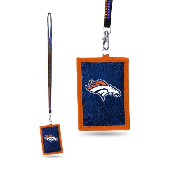 NFL Denver Broncos Lanyard Wallet