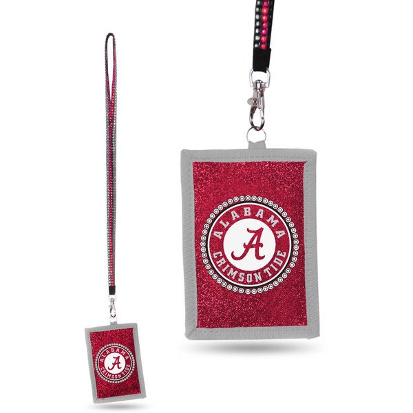 NCAA Alabama Crimson Tide Lanyard Wallet