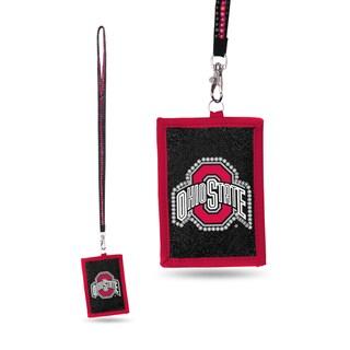 NCAA Ohio State Buckeyes Lanyard Wallet