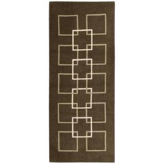 Nourison Accent Decor Brown Accent Rug (1'10 x 4'6)