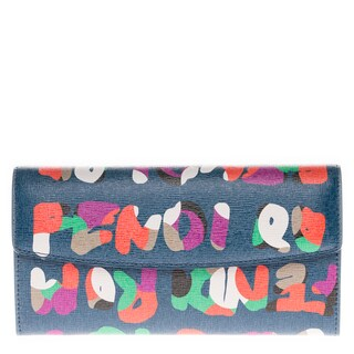 Fendi Crayons Continental Roma Wallet