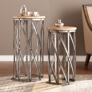 Upton Home Merton Two-Piece Accent Table Set