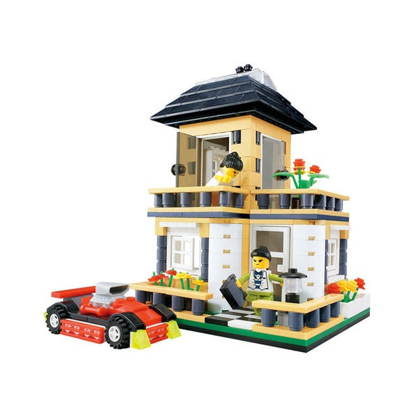 Dimple 405-piece City Inn Building Block Set