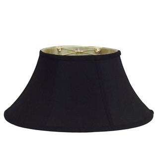Oval Black Silk Shade