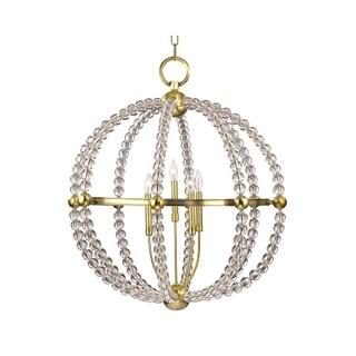 Hudson Valley Danville 5-light Brass Chandelier