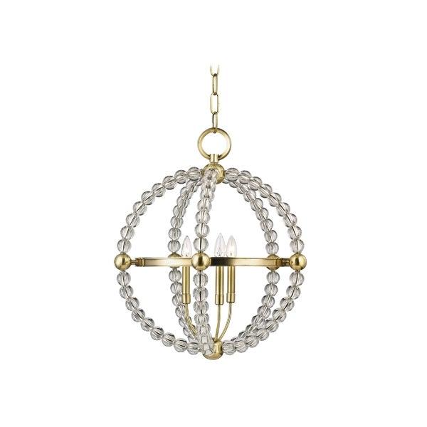 Hudson Valley Danville 3-light Brass Pendant
