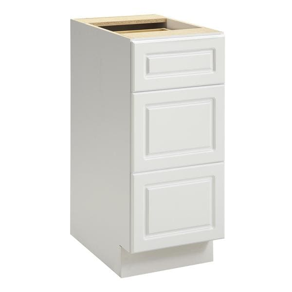 altra heartland cabinetry keystone 15 inch 3 drawer base