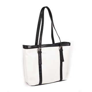 Bueno 'Miranda' Vegan Leather Tote Handbag