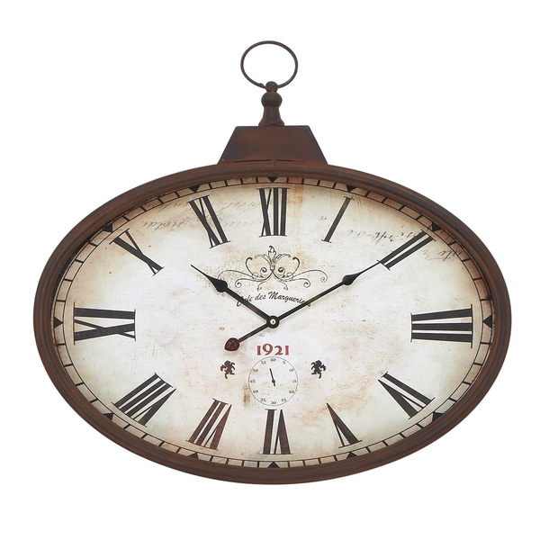 Distressed French Wall Clock