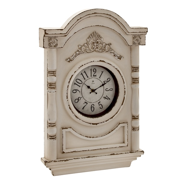 Embossed Acanthus Wall Clock