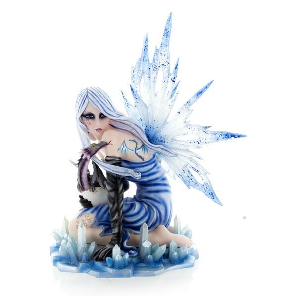 """Ice Fairy, light Blue 12"""" high"""