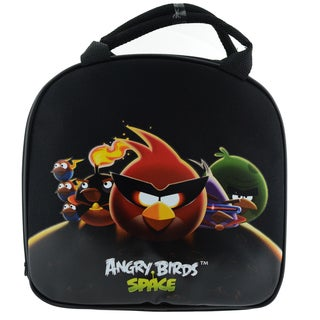 Angry Birds Space Insulated Lunch Bag with Adjustable Shoulder Strap, Water Bottle