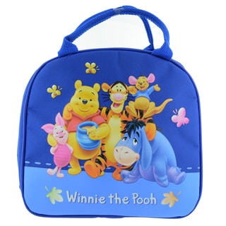 Winnie the Pooh Insulated Lunch Bag with Adjustable Shoulder Strap & Water Bottle