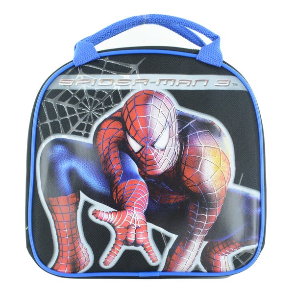 Spider-Man Insulated Lunch Bag with Adjustable Shoulder Strap, Water Bottle 16339482
