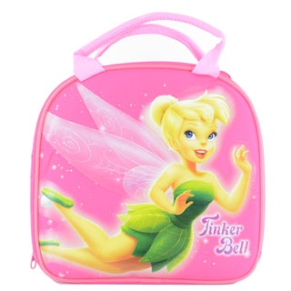 Tinkerbell Fairiess Insulated Lunch Bag with Adjustable Shoulder Strap, Water Bottle