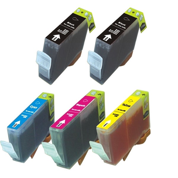 5PK CAN-TY3/3e 2 BK + C Y M Compatible Ink Cartridge For Canon C755 MP700 MP730 ( Pack of 5 )