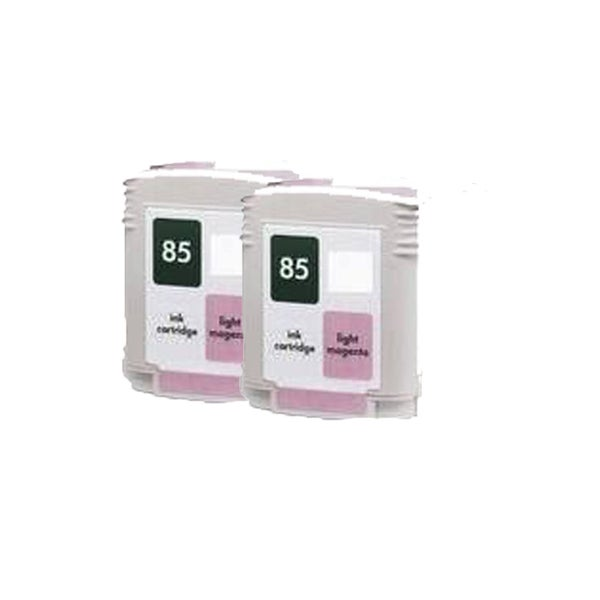 2PK C9429A ( HP 85 ) Light Magenta Compatible Ink Cartridge For HP 30 130 ( Pack of 2 )