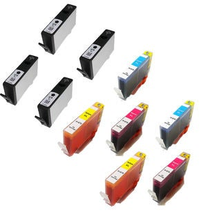 10PK 670XL 4 BK + 2 x C M Y ( CZ117AL - CZ120AL ) Compatible Ink Cartridge For HP 3520 5520 4615 ( Pack of 10 )