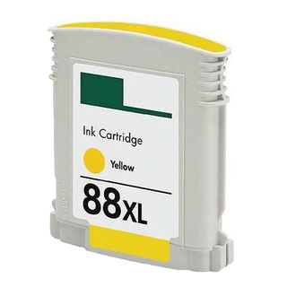 1PK C9393AN/C9388AN No. 88 Yellow Compatible Ink Cartridge For HP Officejet K550 ( Pack of 1 )