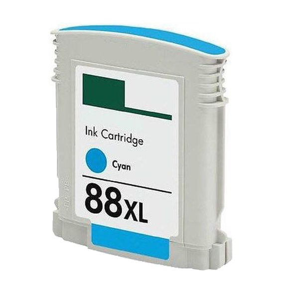 1PK C9391AN/9386AN No. 88 Cyan Compatible Ink Cartridge For HP Officejet K550 ( Pack of 1 )