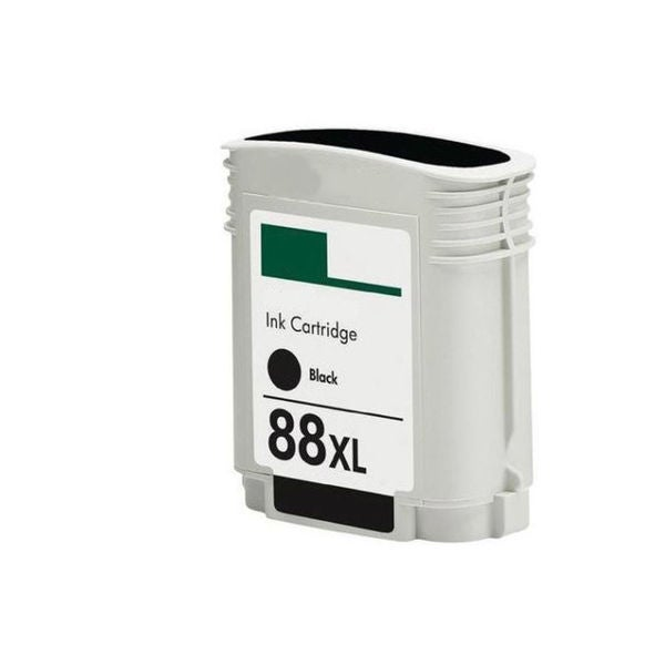 1PK C9396AN/C9385AN No. 88 Black Compatible Ink Cartridge For HP Officejet K550 ( Pack of 1 )