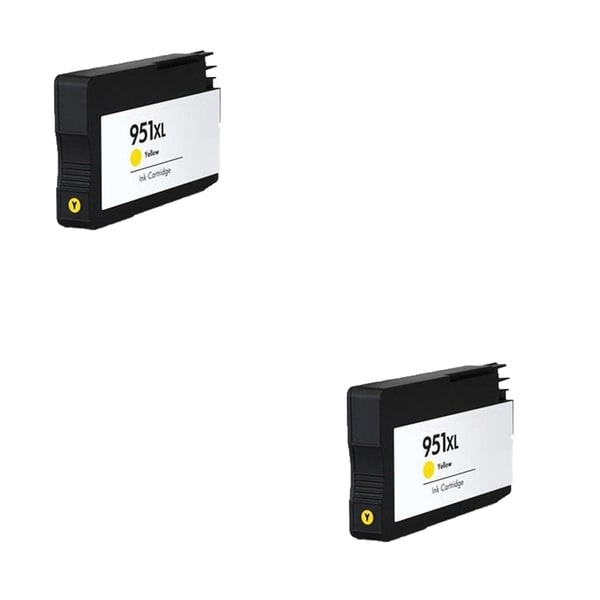 2PK 950 XL Y CN048AN Compatible Ink Cartridge For HP OfficeJet Pro 8100 ( Pack of 2 )